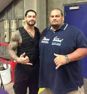Roman Reigns With His Brother