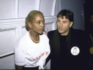 Robert De Niro with Toukie Smith