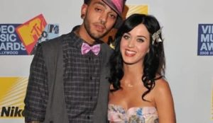 Katy Perry with Travie McCoy
