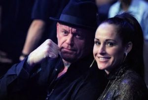 Undertaker with Michelle McCool