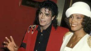 Michael Jackson with Whitney Houston