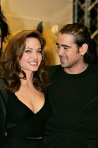 Angelina Jolie with Colin Farrell