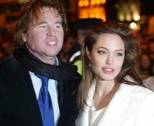 Angelina Jolie with son Val Kilmer