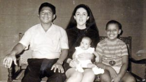 Barack Obama with his Parents