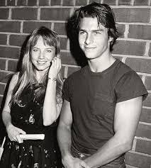 Tom Cruise with Rebecca De Mornay