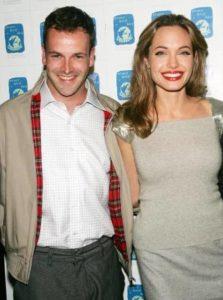Angelina Jolie with Jonny Lee Miller
