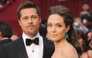 Angelina Jolie with Brad Pitt