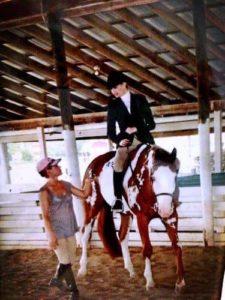 Kate Upton doing Horse Riding