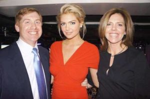 Kate Upton with her Parents