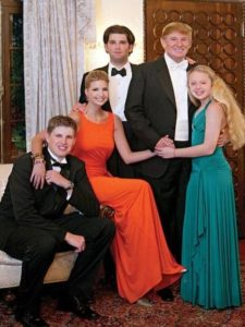 Tiffany Trump with her Family
