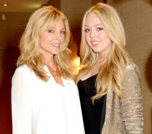 Tiffany Trump with her Mother