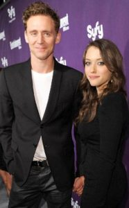 Tom Hiddleston with Kat Dennings