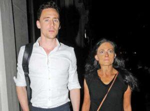 Tom Hiddleston with Lara Pulver