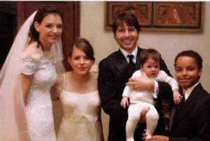 Tom Cruise with his Kids