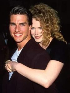 Tom Cruise with Mimi Rogers