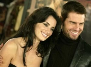 Tom Cruise with Penelope Cruz