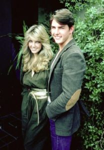 Tom Cruise with Heather Locklear