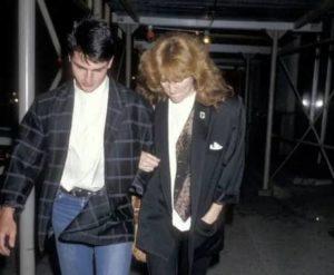 Tom Cruise with Patti Scialfa