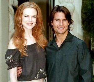 Tom Cruise with Nicole Kidman