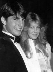 Tom Cruise with Melissa Gilbert