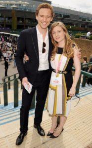 Tom Hiddleston with his Sister Emma Hiddleston