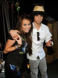 Adam G.Sevani with Miley Cyrus