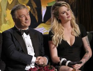 Alec Baldwin with Ireland Baldwin