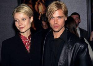 Brad Pitt with Gwyneth Paltrow