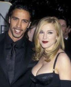 Madonna with Carlos Leon