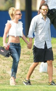 Britney Spears with Charlie Ebersol