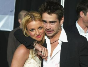 Britney Spears with Colin Farrel