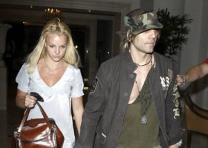 Britney Spears with Criss Angel