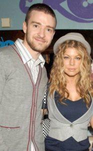 Justin Timberlake with Fergie