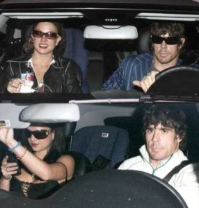 Britney Spears with John Sundahl