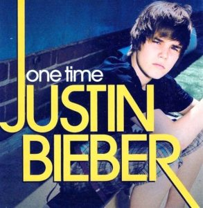 Justin Bieber Debut One Time