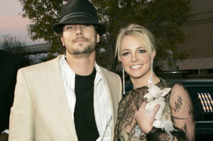 Britney Spears with Kevin Federline