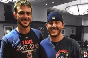 Kris Bryant with his Brother