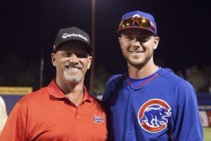 Kris Bryant with his Father