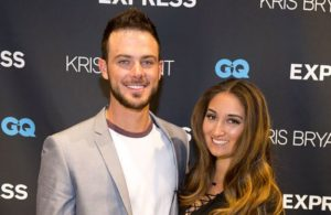 Kris Bryant with his Wife Jessica Delp