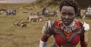 Lupita Nyong'o Nakia role in Black Panther