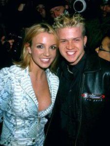 Britney Spears with Robbie Carrico