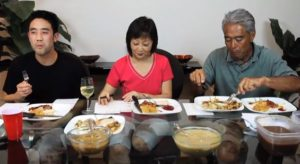 Ryan Higa with his Parents