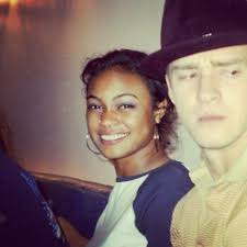 Justin Timberlake with Tatyana Ali