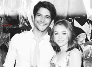 Tyler Posey with Miley Cyrus
