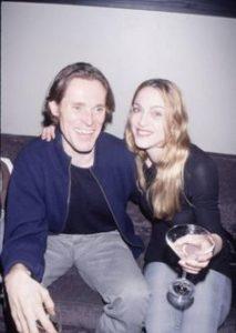 Madonna with Willem Dafoe