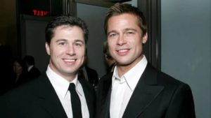 Brad Pitt with his Brother