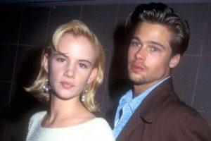 Brad Pitt with Juliette Lewis