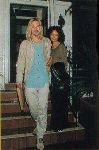 Brad Pitt with Thandie Newton
