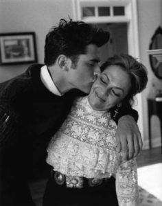 Sean O'Pry with his Mother