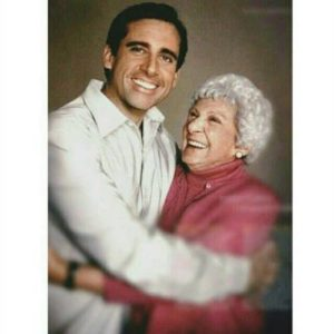Steve Carell with his Mother